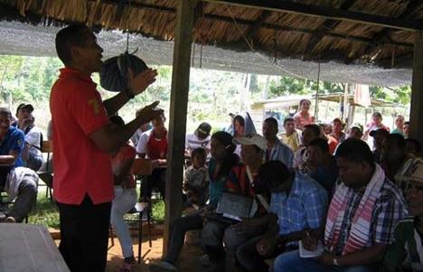 Campamento de refugio humanitario en Frasquillo, Tierralta llega a su tercer día