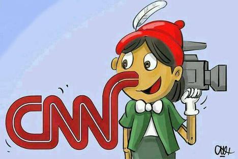 Resultado de imagen de CNN MANIPULACION MEDIATICA