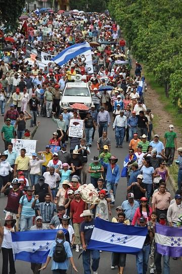Resultado de imagen para Honduras. El pueblo protesta