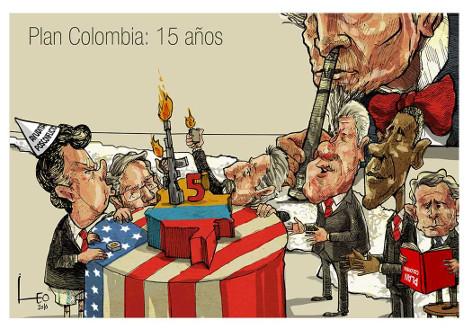 Plan Colombia o cómo justificar el asesinato y la persecución política
